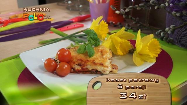 Kuchnia polowa z Robertem Sasinowskim  włoskie danie