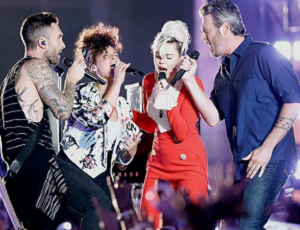 Miley Cyrus, Adam Levine i Alicia Keys w coverze hitu Aerosmith!