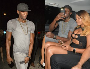 Usain Bolt imprezuje: To NIE JEST jego dziewczyna!