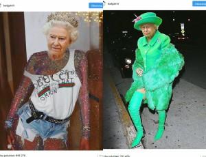 Rihanna obraziła angielską królową?!