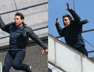 Tom Cruise miał DWA WYPADKI na planie MI6! VIDEO!