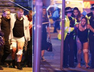 Tragiczny finał koncertu Ariany Grande - są ranni i zabici