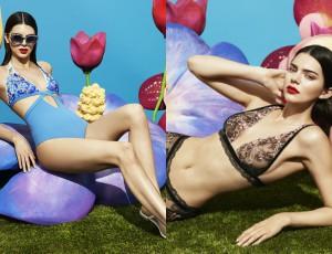 Kendall Jenner w kampanii La Perla. Ale fotki!